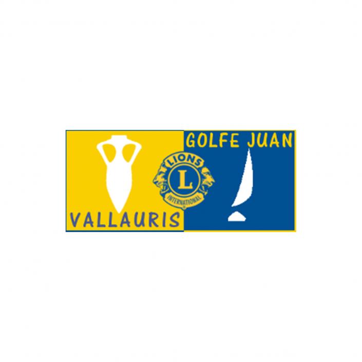 logo lions club de Vallauris golfe juan