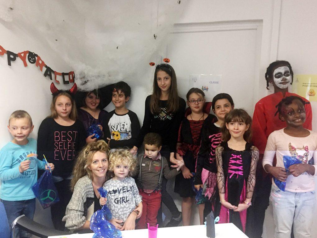 enfants entrain de jouer chez Pilautis 06 ateliers