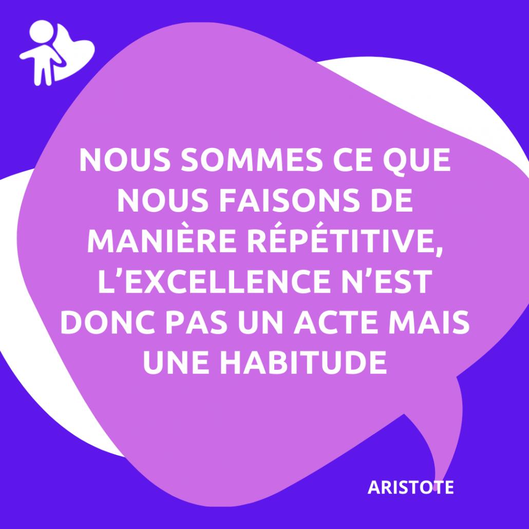 Citations Aristote nos ateliers