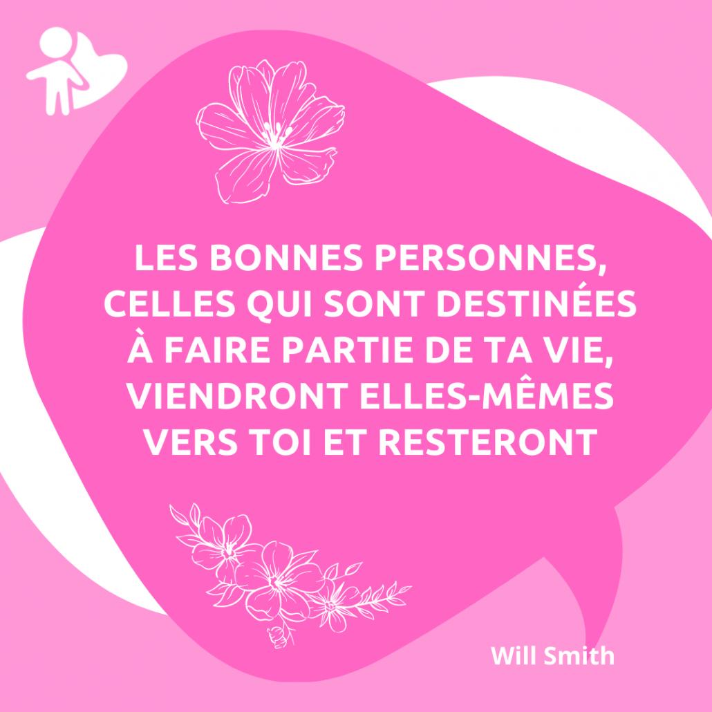 Citations Will Smith bénévole